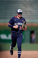 Jace Bohrofen (39) during the Under Armour All-America Game, powered by Baseball Factory, on July 22, 2019 at Wrigley Field in Chicago, Illinois.  Jace Bohrofen attends Westmoore High School in Oklahoma City, OK and is committed to the University of Oklahoma.  (Mike Janes/Four Seam Images)