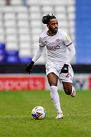 20th February 2021; St Andrews Stadium, Coventry, West Midlands, England; English Football League Championship Football, Coventry City v Brentford; Tariqe Fosu of Brentford runs with the ball