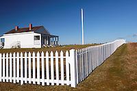 Officers' quarters, American Camp, San Juan Island National Historical Park, San Juan Island, San Juan County, Washington, USA