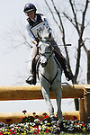 April 26, 2014: Catch A Star and Caitlin Silliman compete in Cross Country at the Rolex Three Day Event in Lexington, KY at the Kentucky Horse Park.  Candice Chavez/ESW/CSM