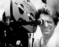 1979 FILE PHOTO - ARCHIVES -<br /> <br /> Director Claude Jutra lines up a shot<br /> <br /> PHOTO :  Keith  BEATY  - Toronto Star Archives - AQP
