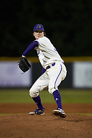 Western Carolina Catamounts relief pitcher Jack Snyder (34) in action against the St. John's Red Storm at Childress Field on March 13, 2021 in Cullowhee, North Carolina. (Brian Westerholt/Four Seam Images)