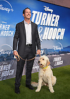 """LOS ANGELES, CA - JULY 15: Executive Producer Matt Nix attends a premiere event for the Disney+ original series """"Turner & Hooch"""" at Westfield Century City on July 15, 2021 in Los Angeles, California. (Photo by Frank Micelotta/Disney+/PictureGroup)"""