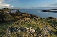 Rockcliffe, Castle Point and the Solway Firth from Mote of Mark, Rockcliffe, Dumfries and Galloway<br /> <br /> Copyright www.scottishhorizons.co.uk/Keith Fergus 2011 All Rights Reserved