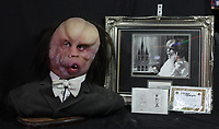 BNPS.co.uk (01202 558833)<br /> AdamPartridge/BNPS<br /> <br /> A Silicone bust from the film the Elephant man.<br /> <br /> A vast collection of 'weird and wonderful' memorabilia from a music venue that hosted early Beatles gigs has emerged for sale for close to £50,000.<br /> <br /> Lathom Hall in Liverpool was one of the best known clubs on the Merseybeat music scene in the late 1950s and early 1960s.<br /> <br /> Among their regular bands were the Beatles, although at that time they were known as the Silver Beets.<br /> <br /> Since those days the hall has adapted and is now an entertainment venue crammed full of pop culture memorabilia.