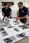 Italian book printers EBS Verona. Once a Year some traditional British customs by Homer Sykes being printed.