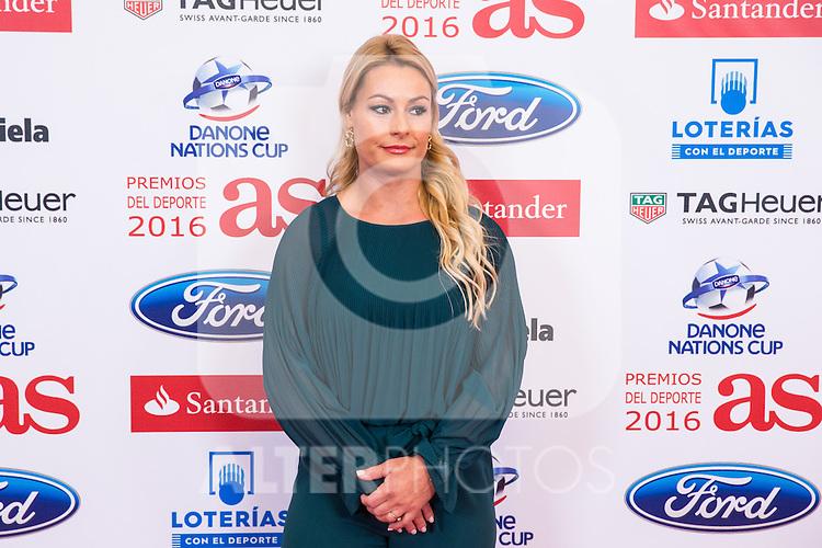 "Lidia Valentin during the ""As sports Awards"" at Palace Hotel in Madrid, Spain. december 19, 2016. (ALTERPHOTOS/Rodrigo Jimenez)"