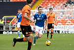 Dundee United v St Johnstone…..01.08.20   Tannadice  SPFL<br />Liam Craig breaks forward<br />Picture by Graeme Hart.<br />Copyright Perthshire Picture Agency<br />Tel: 01738 623350  Mobile: 07990 594431