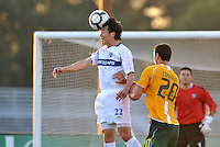 Takashi Hirano, Vancouver Whitecaps...AC St Louis and Vancouver Whitecaps played to a 0-0 tie at Anheuser-Busch Soccer Park, Fenton, Missouri.