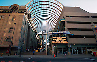 The exterior facade of the Denver Performing Arts Complex. Colorado.