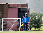 Stuart McCall sets out the training cones