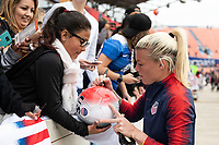 Houston, TX - Sunday April 08, 2018: Fans, Jane Campbell, during an International Friendly soccer match between the USWNT and Mexico at BBVA Compass Stadium.