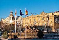 Plaza de la Cibeles, Madrid, Spain