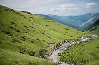up the Port de Balès (HC/1755m/11.7km/7.7%)<br /> <br /> 2014 Tour de France<br /> stage16: Carcassonne - Bagnères-de-Luchon (237km)