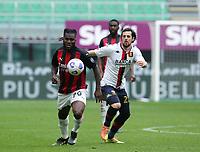 Milano  18-04-2021<br /> Stadio Giuseppe Meazza<br /> Serie A  Tim 2020/21<br /> Milan Genoa<br /> Nella foto:  Kessie Destro                                    <br /> Antonio Saia Kines Milano