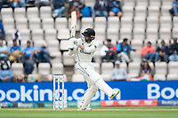 Devon Conway, New Zealand pulls a short delivery during India vs New Zealand, ICC World Test Championship Final Cricket at The Hampshire Bowl on 20th June 2021