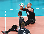 Darek Symonowics and Doug Learoyd, Lima 2019 - Sitting Volleyball // Volleyball assis.<br />