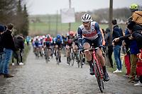 Jasper Stuyven (BEL/Trek-Segafredo)<br /> <br /> 72nd Kuurne-Brussel-Kuurne 2020 (1.Pro)<br /> Kuurne to Kuurne (BEL): 201km<br /> <br /> ©kramon