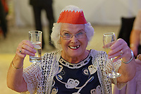 2018 11 28 Lottery winners hold party for music group people in Cowbridge, Wales, UK