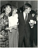 Mila  Mulroney, 3 mars 1983<br /> <br /> <br /> PHOTO :  Agence Quebec Presse