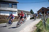 in the descent of the Stockeu<br /> <br /> 107th Liège-Bastogne-Liège 2021 (1.UWT)<br /> 1 day race from Liège to Liège (259km)<br /> <br /> ©kramon