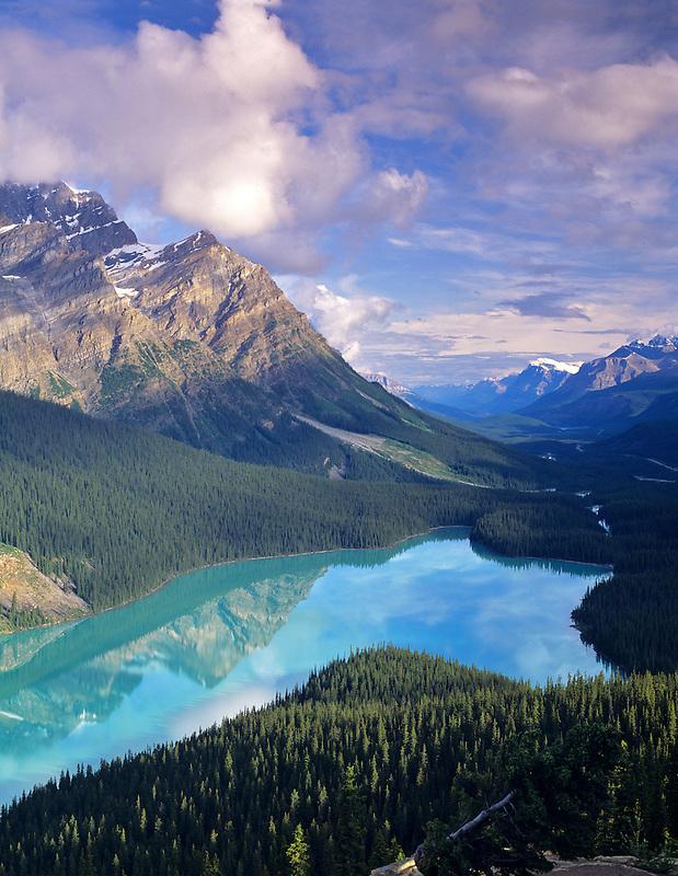 Peyto Lake. Banff National Park, Canada.