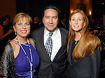 Lavonne Cox, Denis DeBakey and Jennie Moroney at the Una Notte in Italia party at the Intercontinental Houston Hotel Saturday Nov. 07,2009. (Dave Rossman/For the Chronicle)