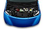 Car Stock 2020 Smart EQ-forfour Comfort-Plus 5 Door Hatchback Engine  high angle detail view