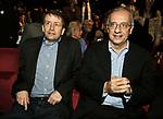 DARIO FRANCESCHINI E WALTER VELTRONI<br /> PARCO DELLA MUSICA ROMA 2010