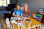 Saídhbh Amira cooking with her mom Davina O'Connell Hanley at their home in Kilmorna Listowel on Tuesday.