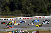 #20: Erik Jones, Joe Gibbs Racing, Toyota Camry Craftsman and #48: Jimmie Johnson, Hendrick Motorsports, Chevrolet Camaro Lowe's for Pros