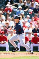 March 10,2009: Intfielder Travis Hafner (48) of the Cleveland Indians at Tempe Diablo Stadium in Tempe, AZ.  Photo by: Chris Proctor/Four Seam Images