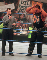 Shane McMahon Big Show 2000                                                      Photo By John Barrett/PHOTOlink