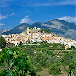 Spain, Costa Blanca, Polop: Traditional mountain village near Benidorm | Spanien, Costa Blanca, Polop: traditionelles Bergdorf bei Benidorm