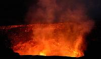 Kīlauea Crater in Hawaii Volcanoes National Park in Big Island, Hawaii