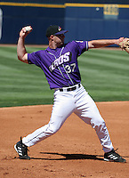 Akron Aeros Kevin Kouzmanoff during an Eastern League game at Canal Park on April 15, 2006 in Akron, Ohio.  (Mike Janes/Four Seam Images)