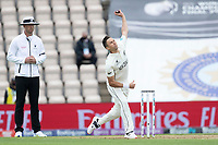 Trent Boult of New Zealand in action during India vs New Zealand, ICC World Test Championship Final Cricket at The Hampshire Bowl on 19th June 2021