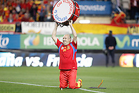 Spain's national team fan Manolo the drummer during match. October 16, 2012. (ALTERPHOTOS/Alvaro Hernandez) /NORTEPhoto