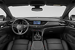 Stock photo of straight dashboard view of 2021 Opel Insignia-Sports-Tourer Ultimate 5 Door Wagon Dashboard
