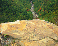 View of Canyon of the Blackwater River from Pendleton Point Overlook; Blackwater Falls State Park, WV