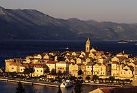 Croatie/Dalmatie/Ile de Korcula: Korcula
