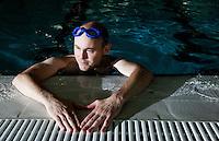 18 OCT 2011 - DEREHAM, GBR - Iain Dawson recovers after a swim session at Dereham Leisure Centre (PHOTO (C) NIGEL FARROW)
