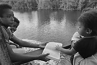- Nicaragua, navigation in the lagoon of Bluefields (Atlantic coast) <br /> <br /> - Nicaragua, navigazione nella laguna di Bluefields (costa atlantica)