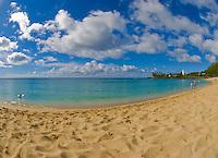 The beach at Waimea Bay