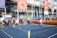 18-9-08, Netherlands, Apeldoorn, Tennis, Daviscup NL-Zuid Korea, Streettennis