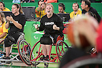 Arinn Young, Rio 2016 - Wheelchair Basketball // Basketball en fauteuil roulant.<br /> Canada vs. China in women's Wheelchair Basketball  // Le Canada contre la Chine en  basketball en fauteuil roulant féminin . 16/09/2016.