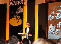 Photo: Richard Lane/Richard Lane Photography. London Wasps End of Season Awards Dinner, 09/05/2012. Chairman, Mark Rigby.