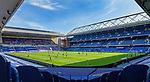 Rangers v St Mirren:  Ibrox Stadium during the first closed doors league gane at home