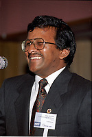 October 5, 1995  File Photo - Montreal, Quebec, CANADA - Alan DeSousa - Alan DeSousa is one of the possible replacement of Mayor Gerald Tremblay who resigned November 5, 2012.