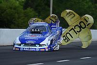 May 14, 2011; Commerce, GA, USA: NHRA funny car driver Robert Hight during qualifying for the Southern Nationals at Atlanta Dragway. Mandatory Credit: Mark J. Rebilas-
